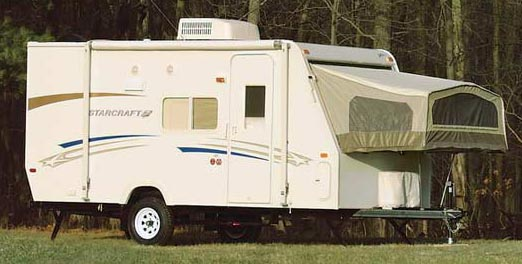 Hybrid Travel Trailers
